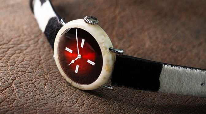 Swiss Watchmaker Created 100% Swiss Watch Made From Real Swiss Cheese