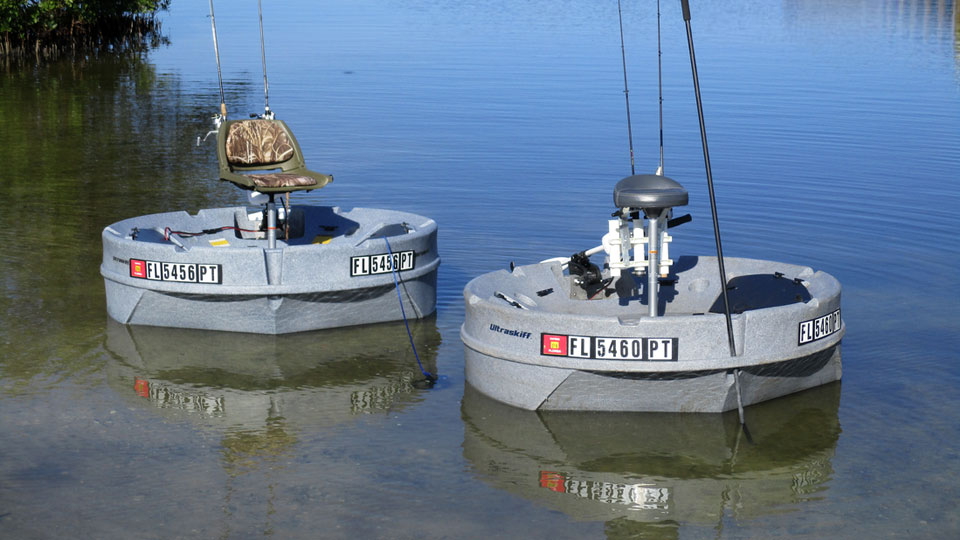 Ultraskiff 360 proves that round boats can be as adept as for Personal fishing boat