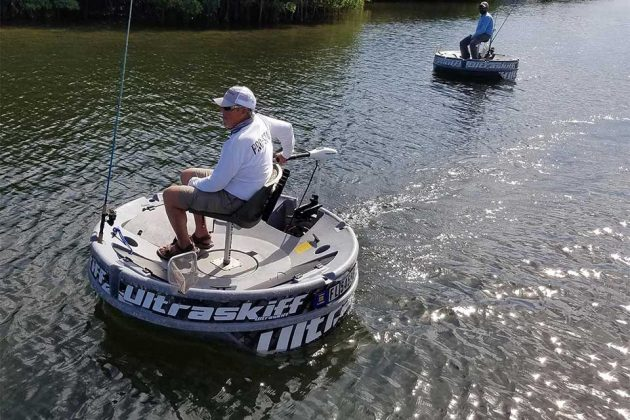 Ultraskiff 360 proves that round boats can be as adept as for Circle fishing boat