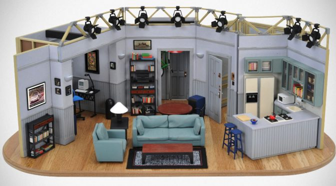 1:26 Scale Seinfeld Official Studio Set Replica