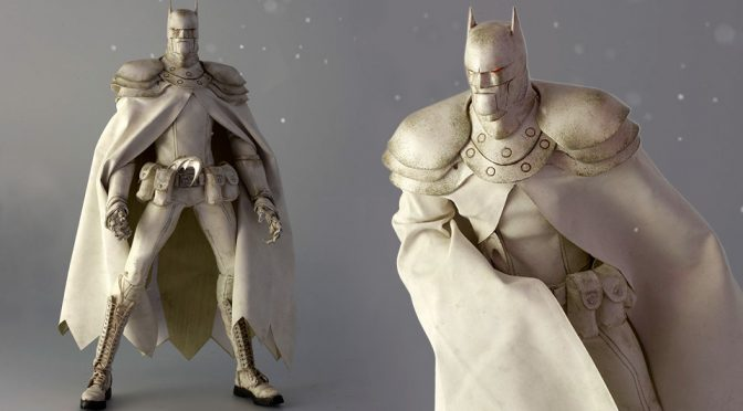 1/6th Scale Robotic Batman In Off-White Is Kind Of Steampunk-<em>ish</em>