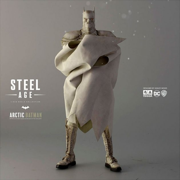 1/6th Scale Arctic Batman Steel Age by ThreeA