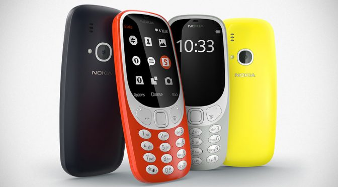 2017 Nokia 3310 Feature Phone by HMD Global Goes Official