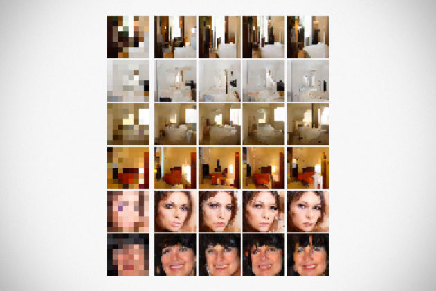 AI Helps Google To Sharper Low-res Images
