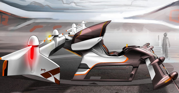 Airbus Group Project Vahana Flying Car Concept