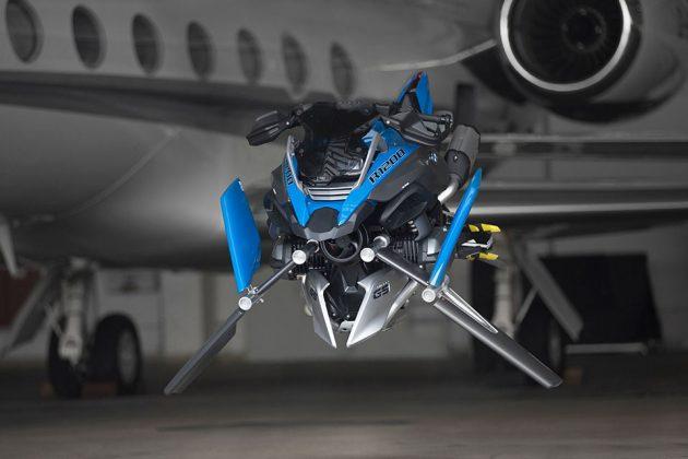 BMW Motorrad x LEGO Technic Hover Ride Design Concept