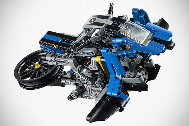 we want this life size bmw motorrad lego technic hover. Black Bedroom Furniture Sets. Home Design Ideas