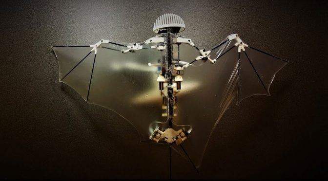 Bat Bot B2 Advanced Robotic Bat