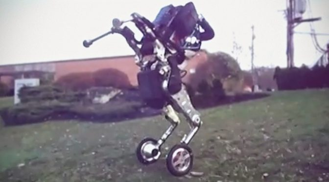 Boston Dynamics Handle Wheeled Robot