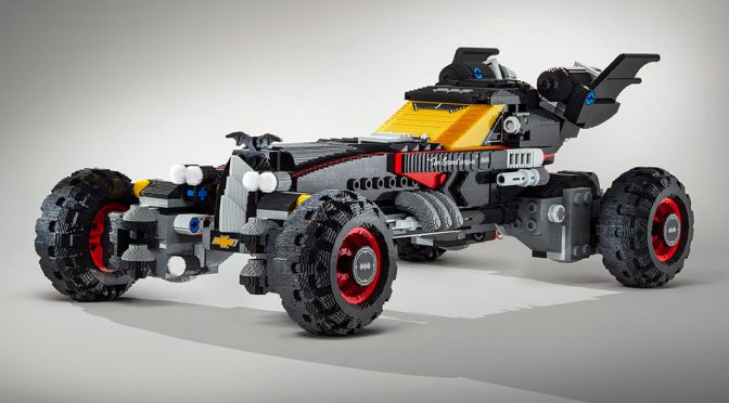 Chevrolet The LEGO Batman Movie Life-size Batmobile