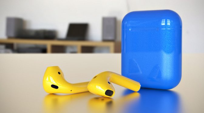 Colorware Custom Color Apple AirPods Wireless Headphones