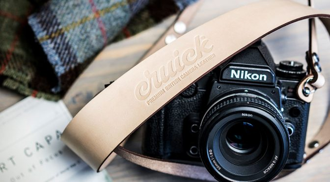 Cruick Is A UK-made Premium Leather Camera Strap And It Is Gorgeous