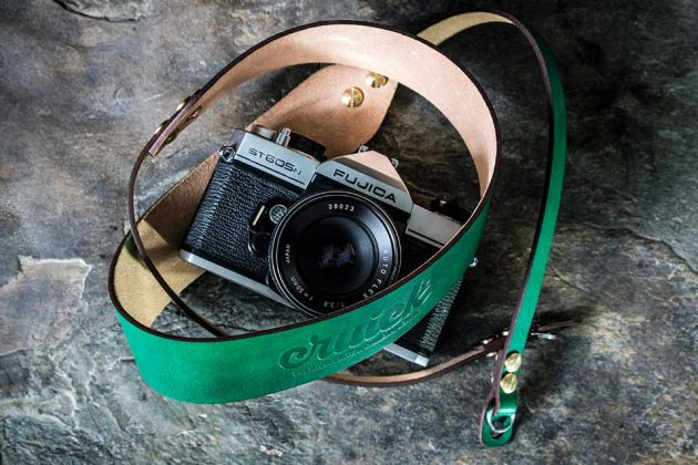 Cruick Ultra Premium Handmade in UK Leather Camera Straps