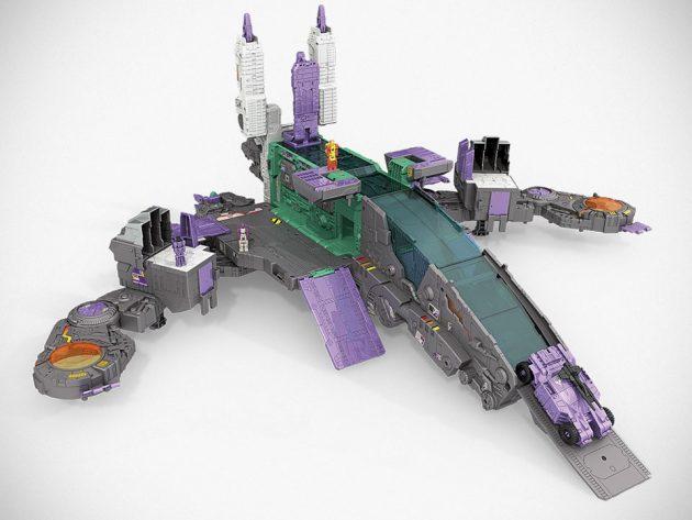 Hasbro Transformers Decepticon City Trypticon City Mode