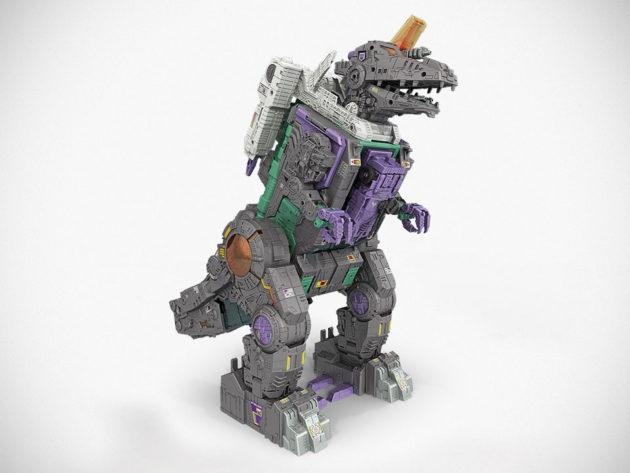 Hasbro Transformers Decepticon City Trypticon Dino Mode