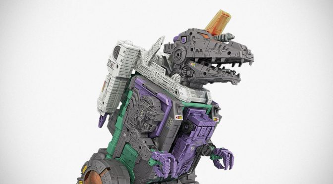 New Hasbro Transformers Decepticon City Action Figure Is 20 Inches Huge!