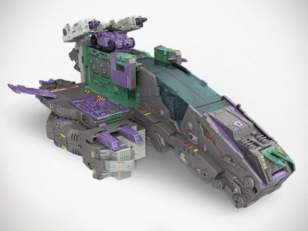Hasbro Transformers Decepticon City Trypticon Spaceship Mode