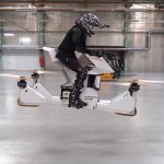 Real Hoverbike Is A Good Reason Why You Should Keep Your Weight In Check