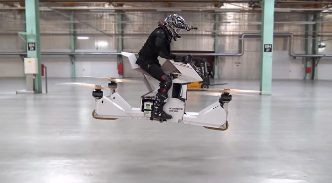 Hoversurf Scorpion 3 Hoverbike Personal Air Transport
