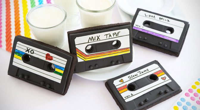 Edible Mixed Tape Is Probably The Best And Coolest Valentine's Day Gift Ever