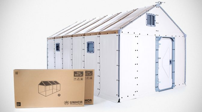 It Takes Just 4 Person 4 Hours To Put Up This Flat-pack Ikea House