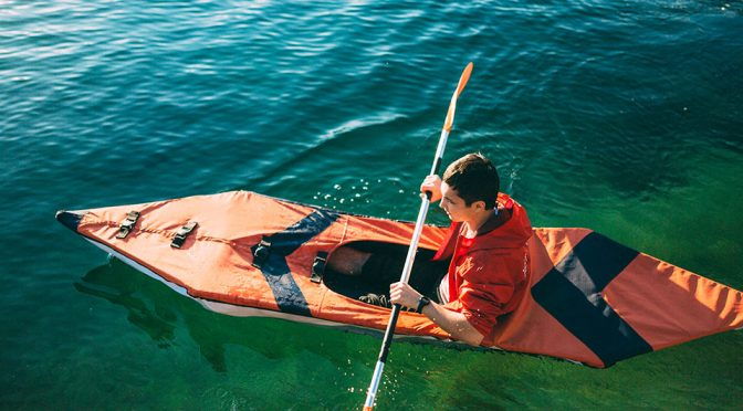 This Full-size Kayak Is Foldable And Weighs Less Than A Chihuahua