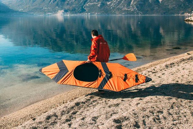 Justin Case Lightweight Foldable Kayak