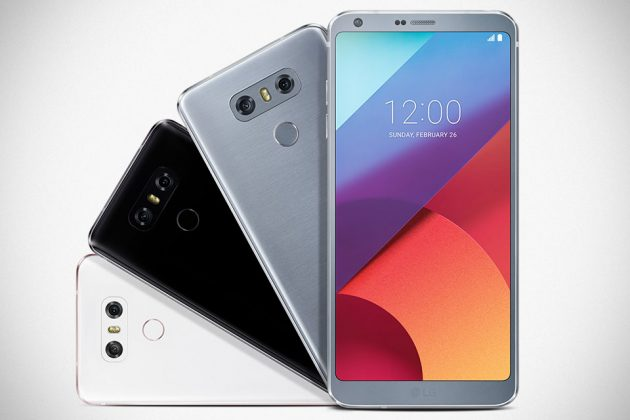 LG G6 Android Smartphone with Fullvision Display at MWC 2017