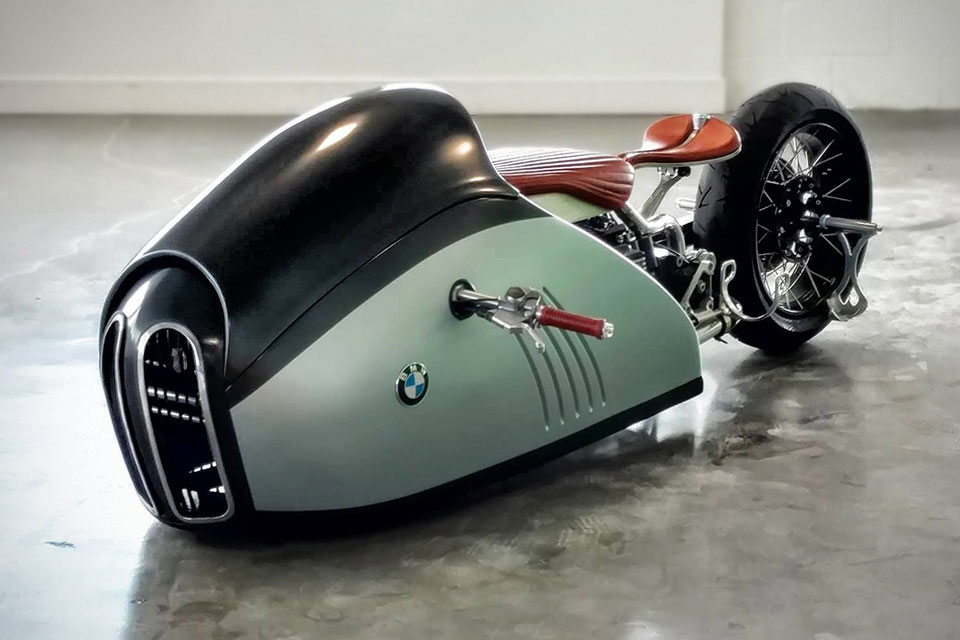 Makr S Magic Touch Turns Mehmet S K75 Alpha Concept Bike Into A