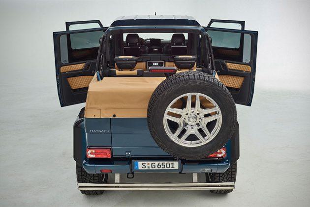 Mercedes-Maybach G 650 Landaulet Open-top Off-roader