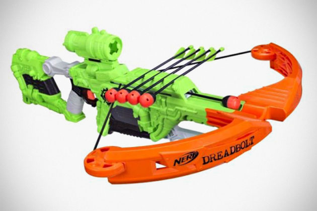 NERF Zombie Strike Deadbolt Crossbow