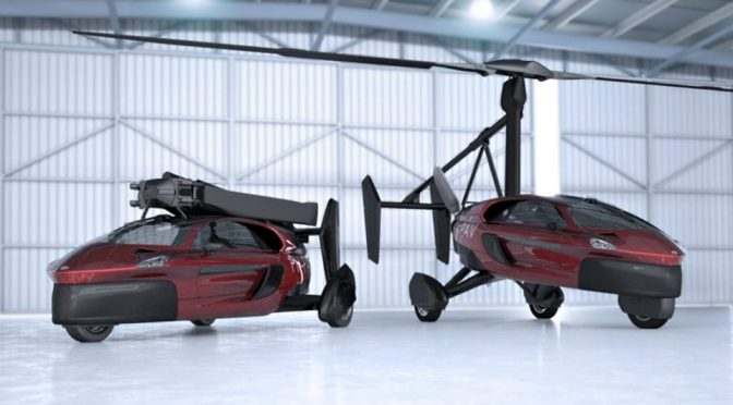 Pal-V Liberty Pioneer and Liberty Sport Flying Cars