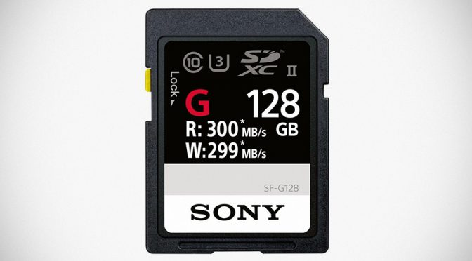 Sony's New SF-G Series SD Cards Write At 299 MB/s, Claims As World's Fastest