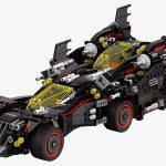 The Ultimate Batmobile Set's Batmobile Is A Strange-looking 4-in-1 Vehicle