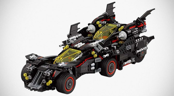 The LEGO Batman Movie's The Ultimate Batmobile Set