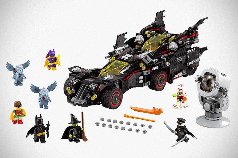 The LEGO Batman Movie's The Ultimate Batmobile Set