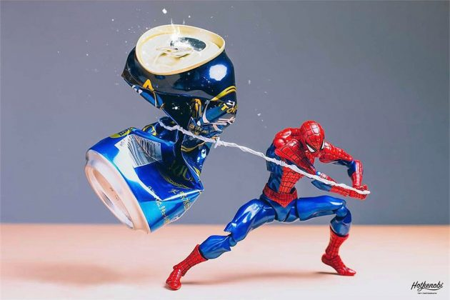 Toy Action Figures Photography by Instagrammer Hot.Kenobi