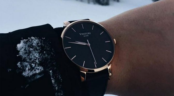 Venture Watch Achieves Perfect Fit With Ratchet Belt Watch Strap