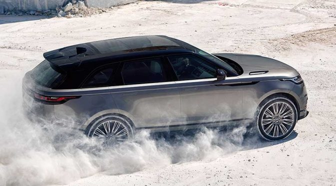 Land Rover Range Rover Velar Goes Official And It Is Gorgeous!