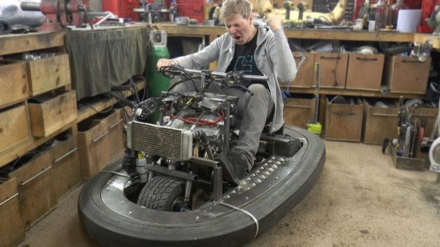 600cc 100BHP Bumper Car Built by Colin Fuze