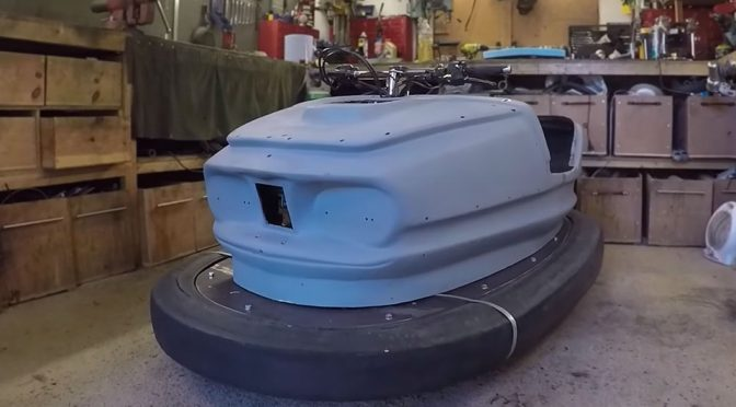 600cc 100BHP Bumper Car Built by Colin Fuze