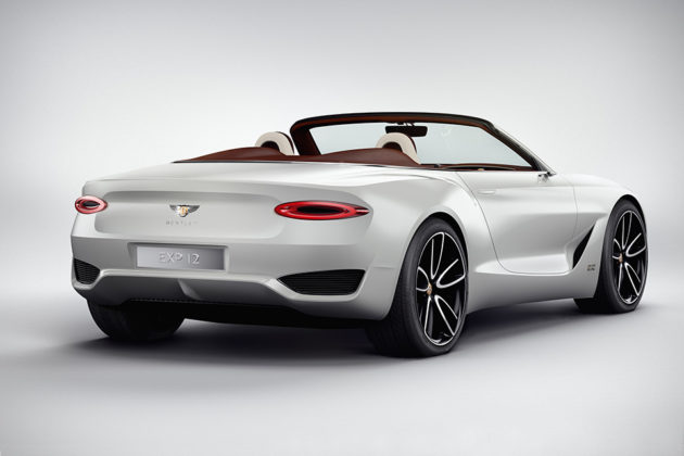 Bentley EXP 12 Speed 6e Luxury Electric Concept Car