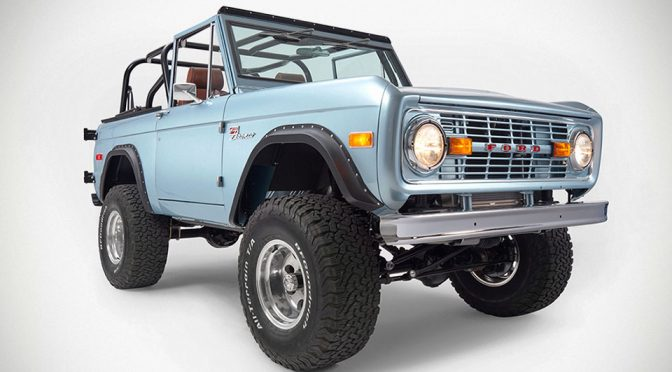 Brittany Blue 1971 Ford Bronco by Classic Ford Broncos