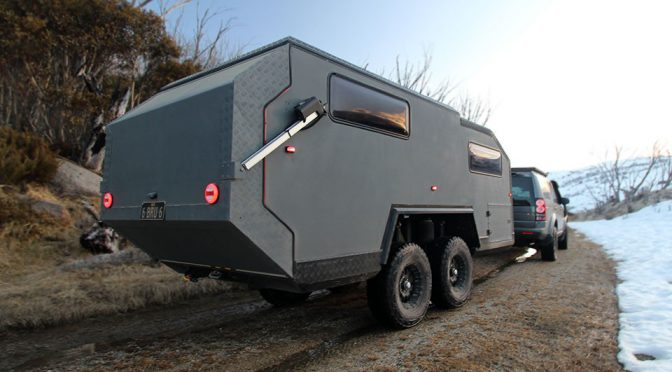Bruder EXP-6 Is Probably The Craziest Camper Trailer We Have Seen