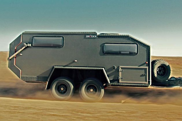 Bruder EXP-6 Expedition Camper Trailer