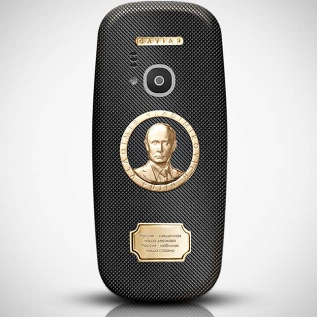 Caviar Nokia 3310 Supremo Putin Edition Mobile Phone