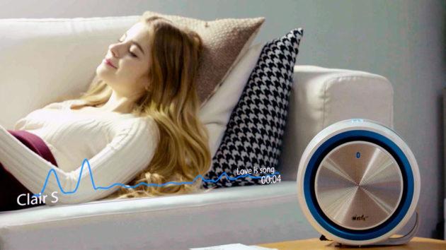 Clair-S Sleep Inducing White Noise Air Purifier