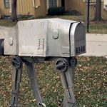 Custom Star Wars AT-AT Mailbox Deserves The Title Of Best Mailbox Ever