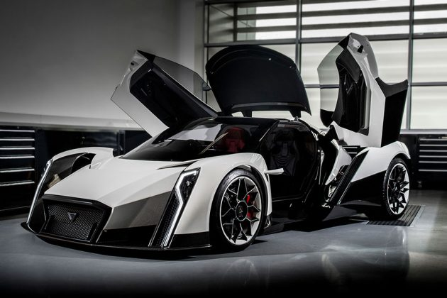 Dendrobium Electric Supercar by Vanda Electrics