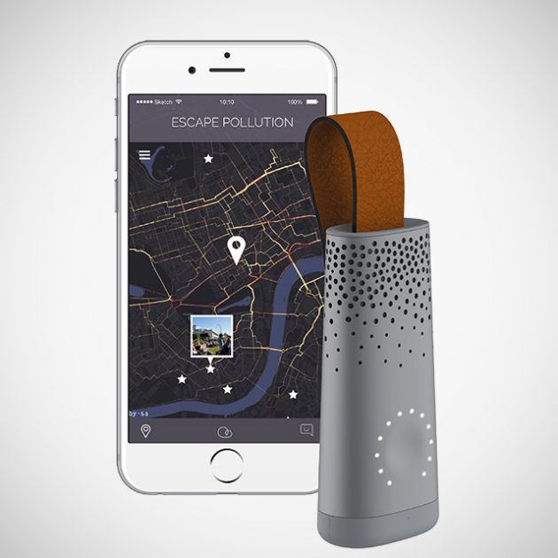 Flow Smart Air Quality Tracker by Plume Labs